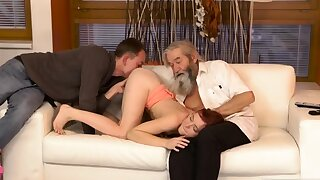 Twosome old granny s and man fucks big tits milf Unexpected