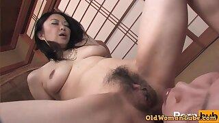 Asian libidinous MILF crazy sex photograph