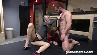 Elder statesman broads cannot succeed in enough of a muscled, horny stud