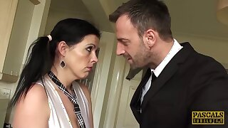 Dominated Uk Sub Receives Cum In Mouth - Pascal White
