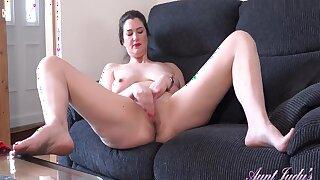 Illustrious Long-legged Milf Felicity Masturbates Respecting Girl/girl Porn