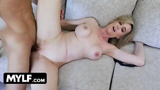 Gorgeous Milf Lilly James Cheats On Her Husband And Gets Young Studs Huge Tax In Her Juicy Muff 14 min  720p