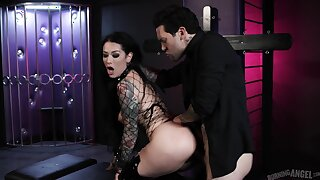 Dark anal hardcore for the evil slut with a perfect ass